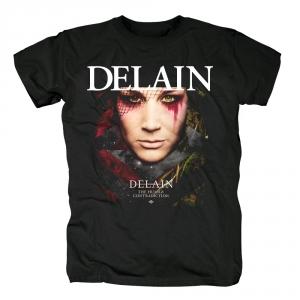 Merch T-Shirt Delain The Human Contradiction