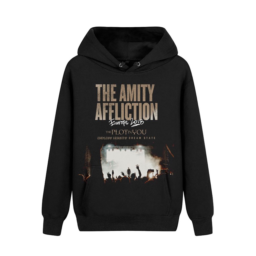 Merch Hoodie The Amity Affliction Europe 2018 Pullover