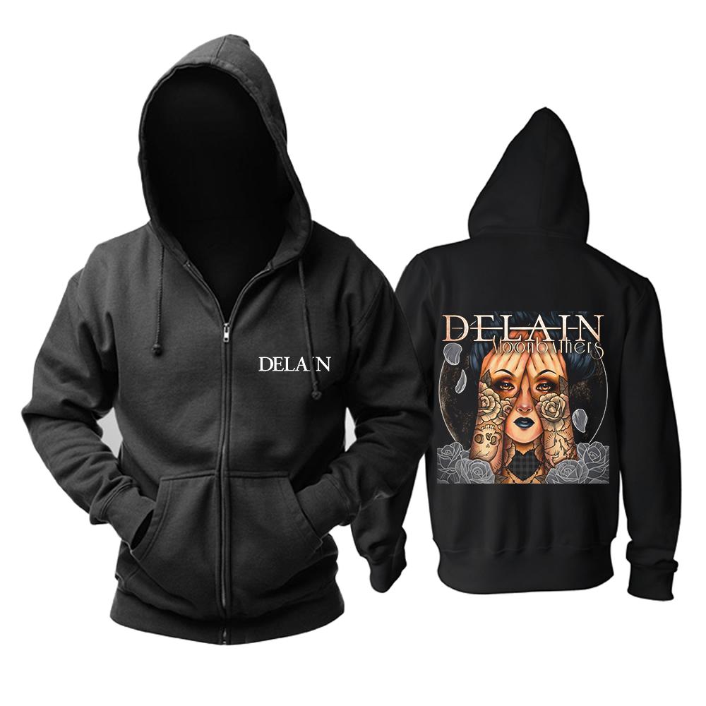 Merchandise Hoodie Delain Moonbathers Black Pullover
