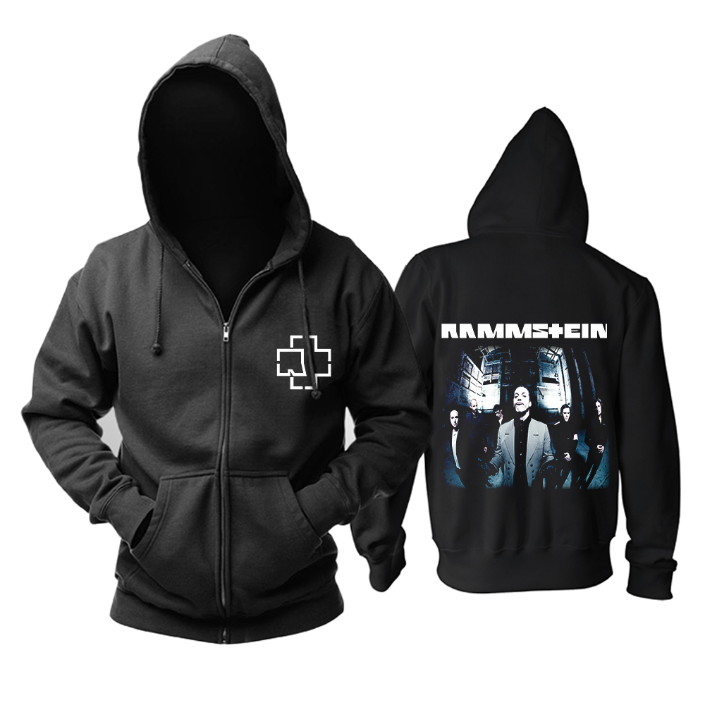 Collectibles Hoodie Rammstein Rock Band Black Pullover
