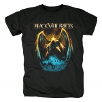 Merch T-Shirt Black Veil Brides Fallen Angels