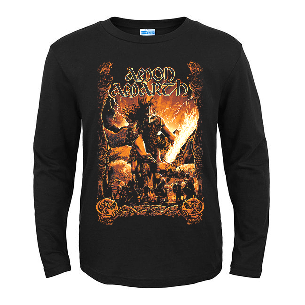 Merchandise T-Shirt Amon Amarth Surtur Rising Black