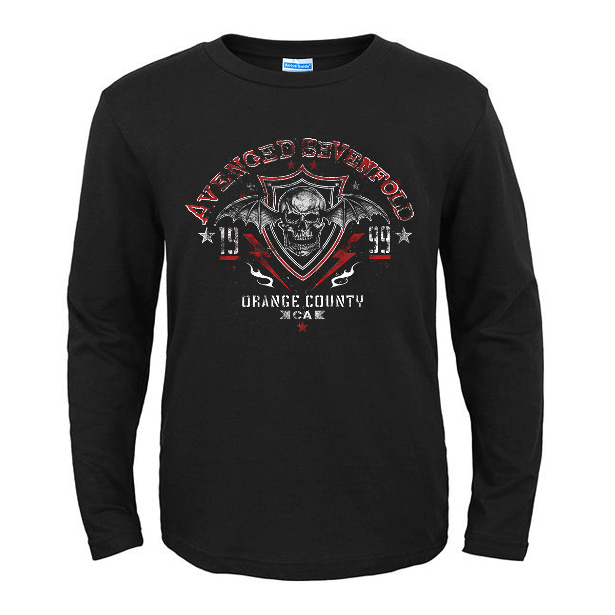 Merch T-Shirt Avenged Sevenfold Orange County