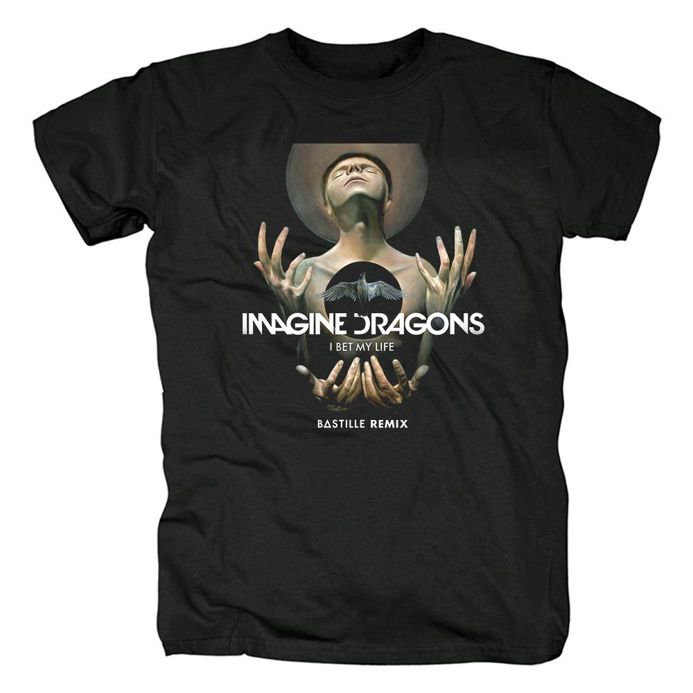 Merch T-Shirt Imagine Dragons I Bet My Life Bastille Remix