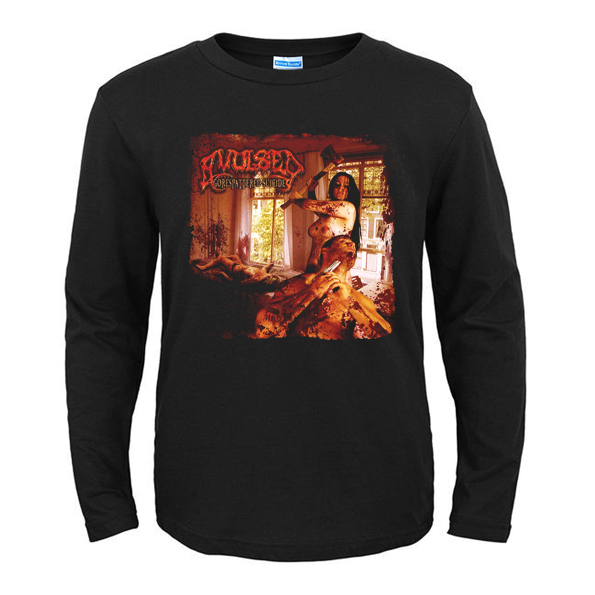 Merchandise T-Shirt Avulsed Gorespattered Suicide