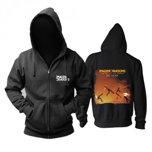 Merch Hoodie Imagine Dragons On Top Of The World Rac Remix Pullover