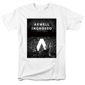 Collectibles T-Shirt Axwell Λ Ingrosso Dj Duo White
