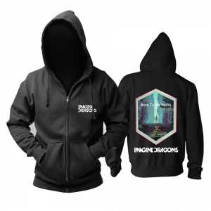 Merch Hoodie Imagine Dragons Born To Be Yours Pullover
