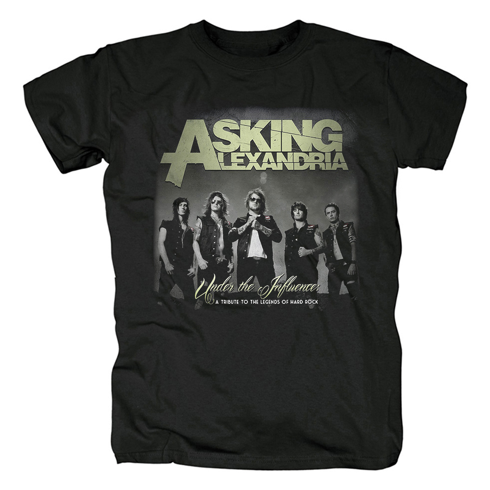 Collectibles T-Shirt Asking Alexandria Under The Influence