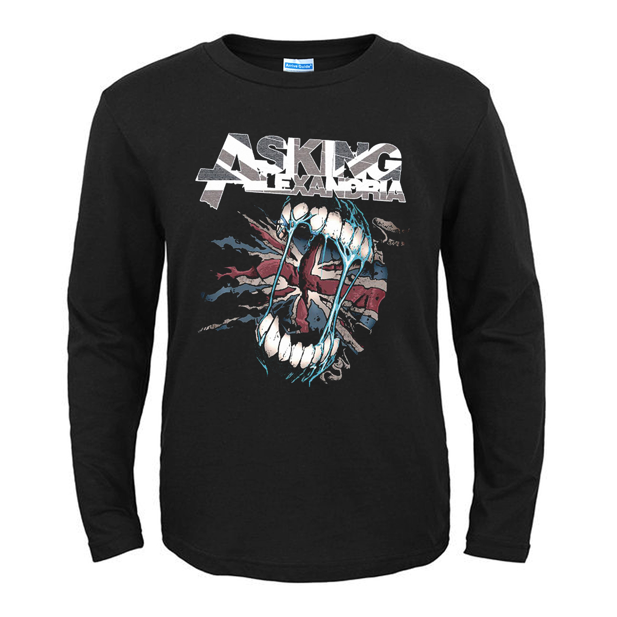 Collectibles T-Shirt Asking Alexandria Flag Eater