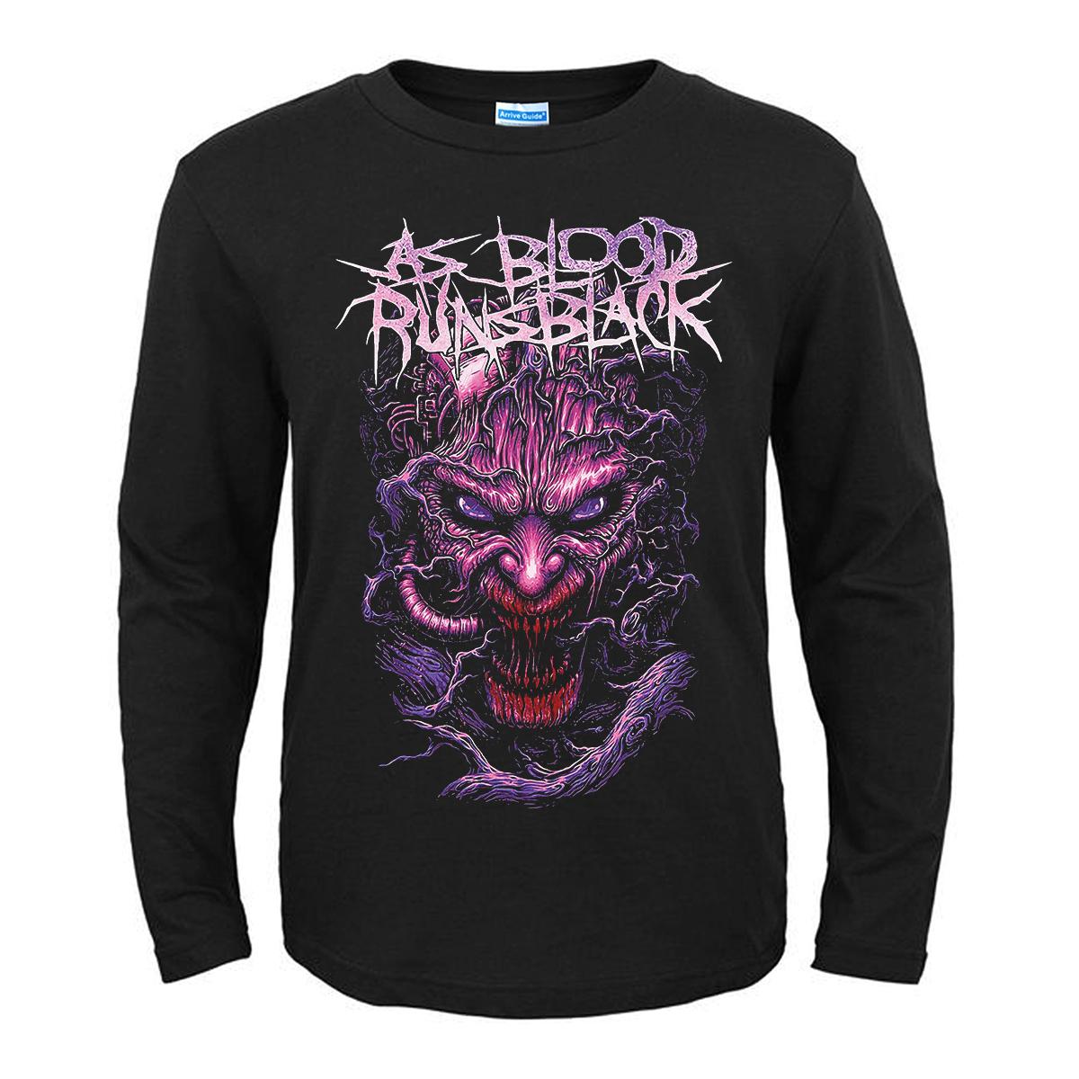 Merch T-Shirt As Blood Runs Black The Nightmare