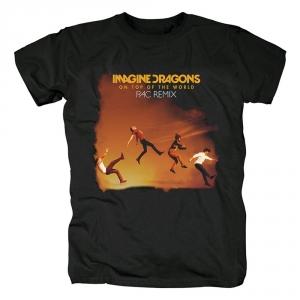 Merch T-Shirt Imagine Dragons On Top Of The World Rac Remix