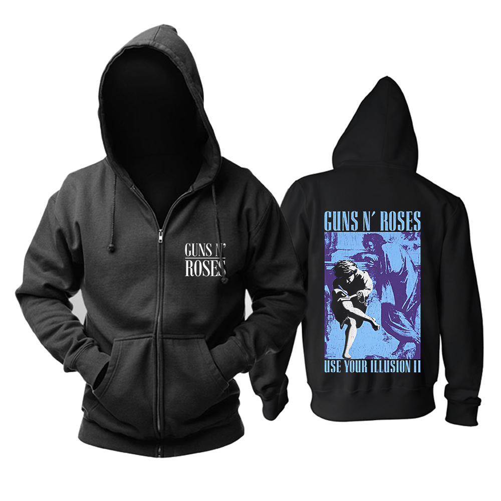 Collectibles Hoodie Guns N' Roses Use Your Illusion Ii Pullover