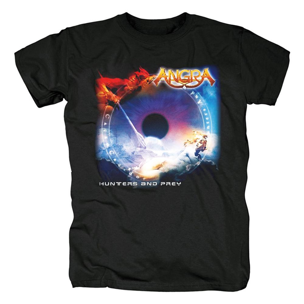 Merch T-Shirt Angra Hunters And Prey