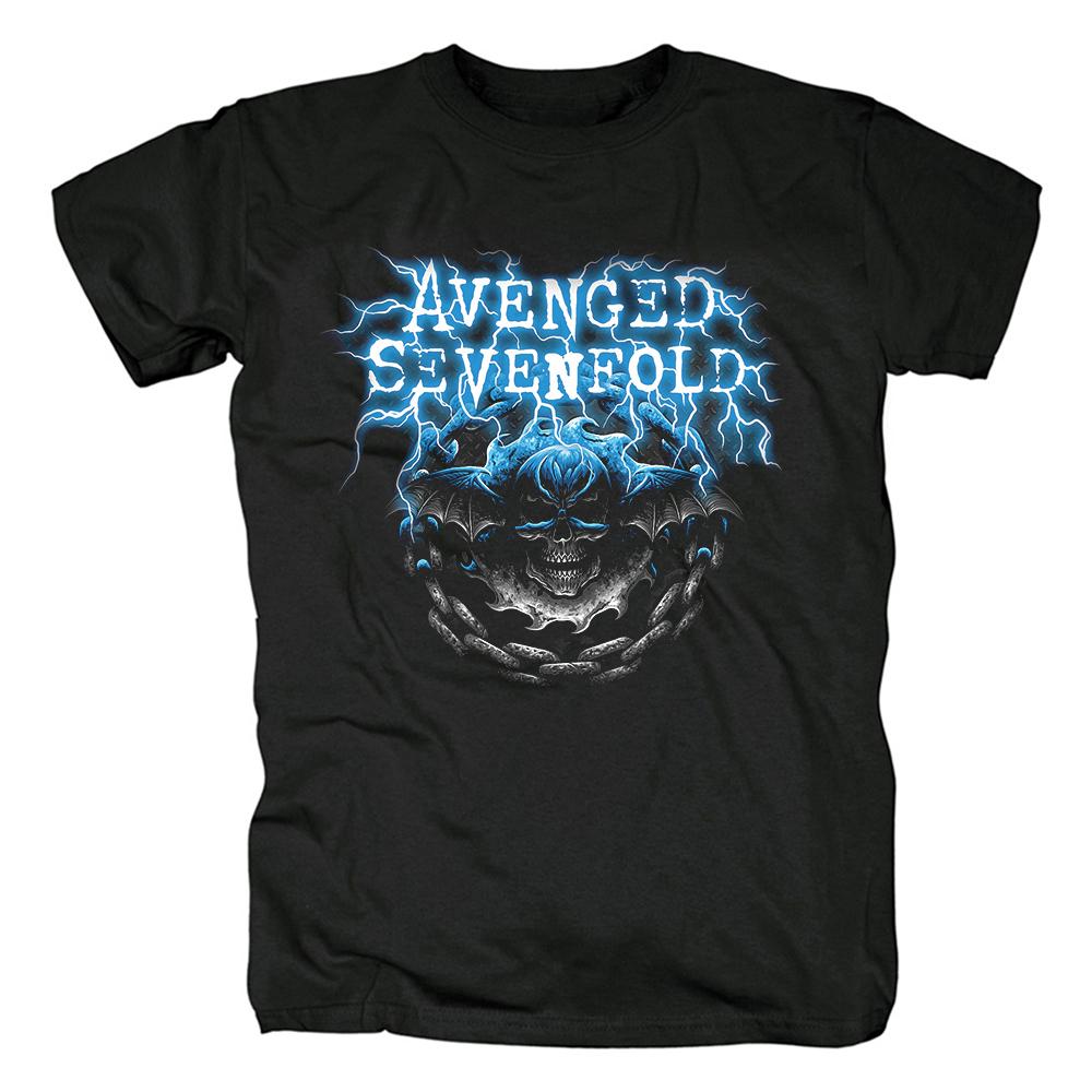 Merch T-Shirt Avenged Sevenfold Logo Metal