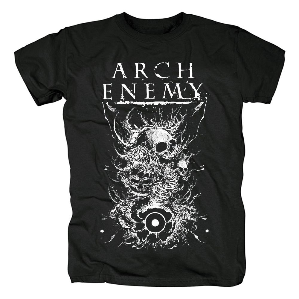 Merchandise T-Shirt Arch Enemy Skulls Black