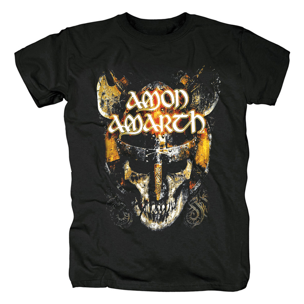 Merch T-Shirt Amon Amarth Warrior'S Skull