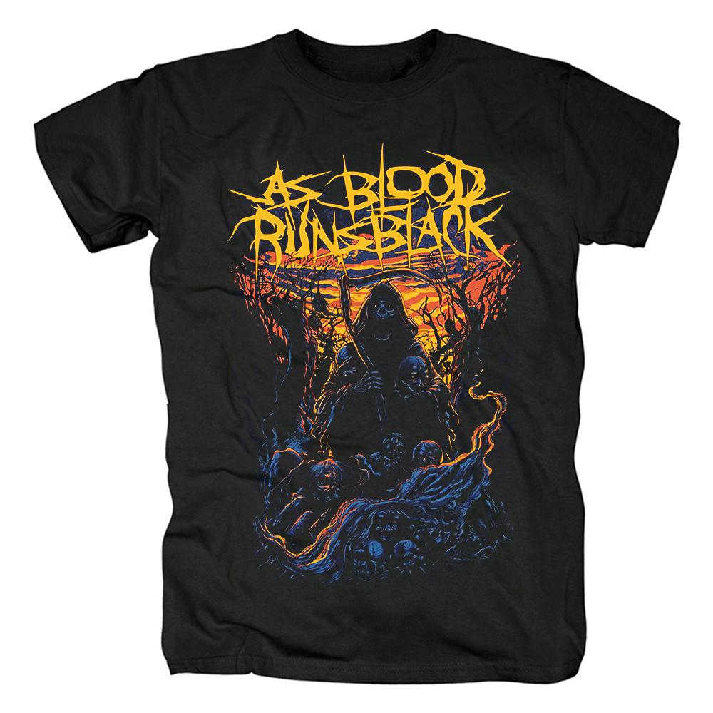 Merch T-Shirt As Blood Runs Black Reaper