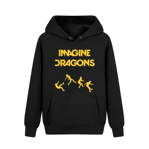 Merch Hoodie Imagine Dragons On Top Of The World Logo Pullover