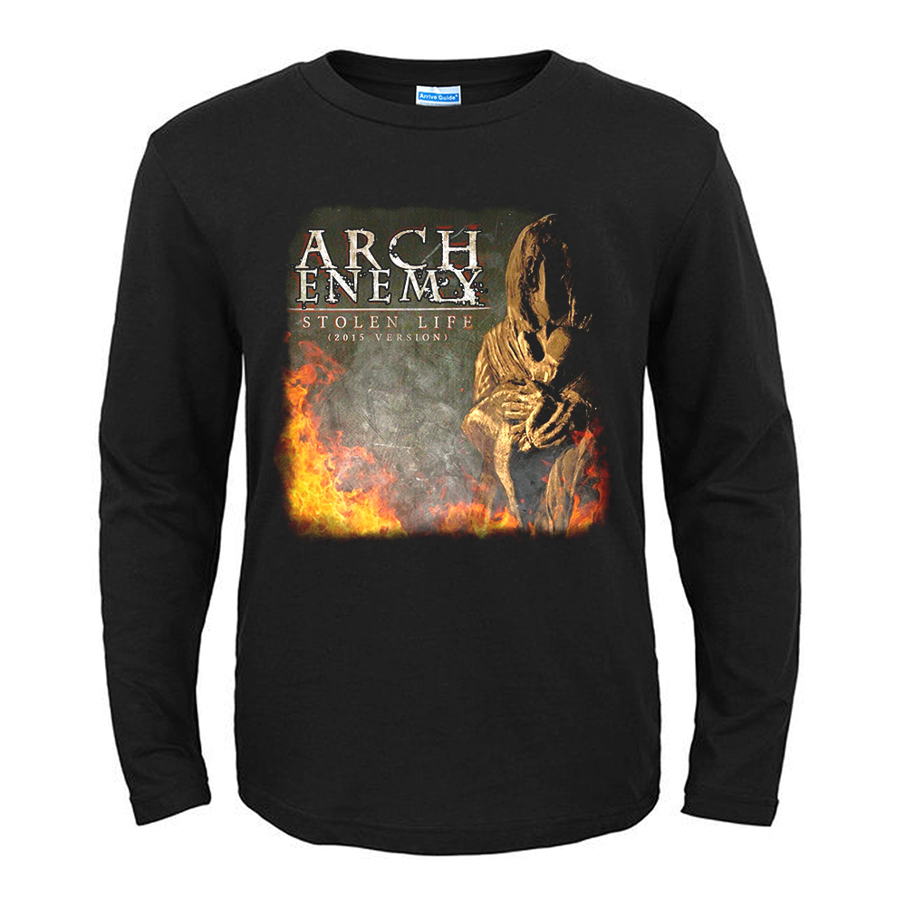 Merch Black T-Shirt Arch Enemy Stolen Life