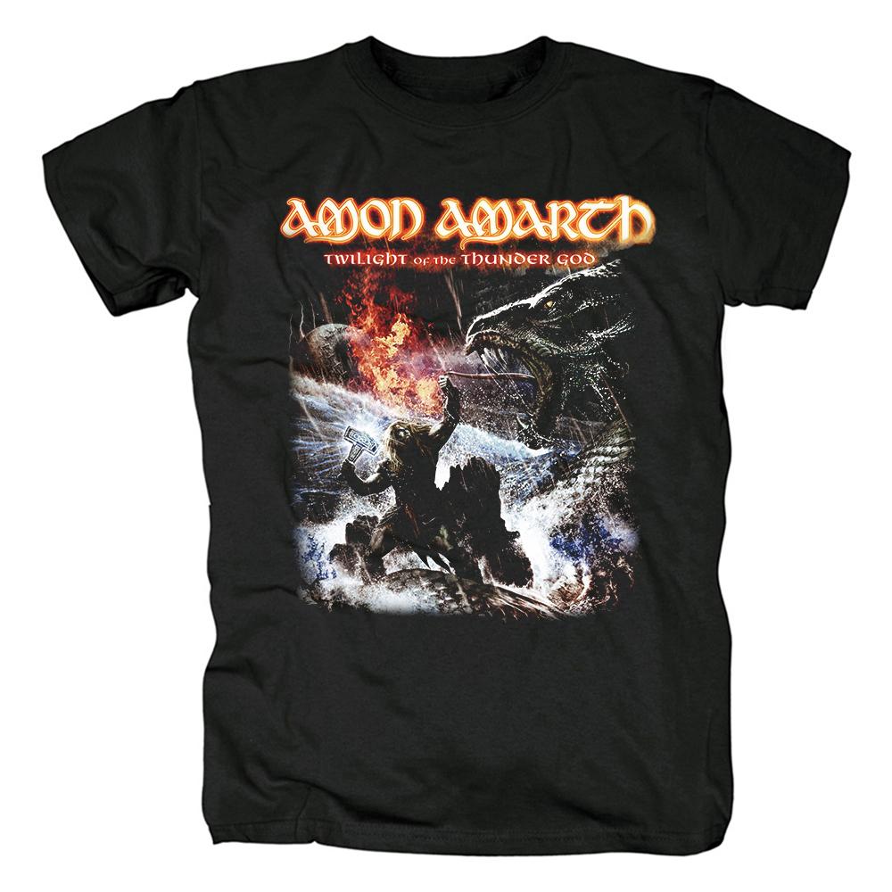 Merch T-Shirt Amon Amarth Twilight Of The Thunder God