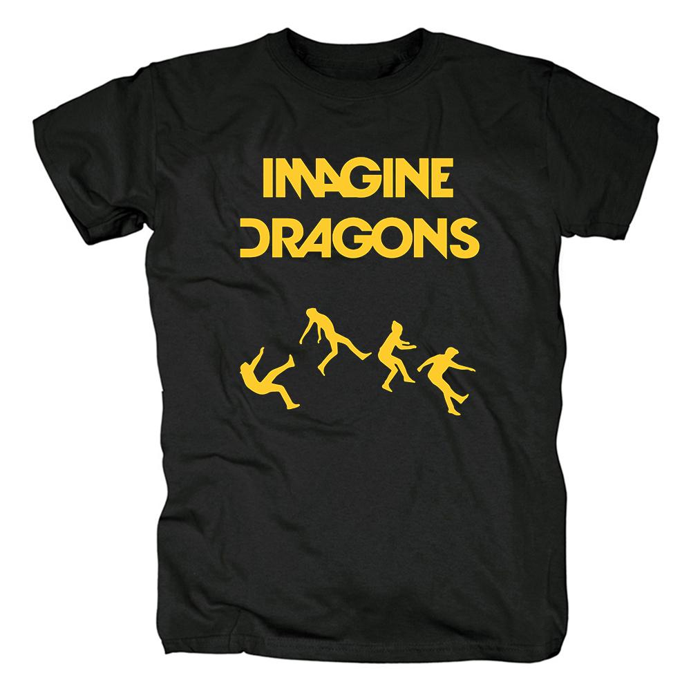 Merch T-Shirt Imagine Dragons On Top Of The World Logo