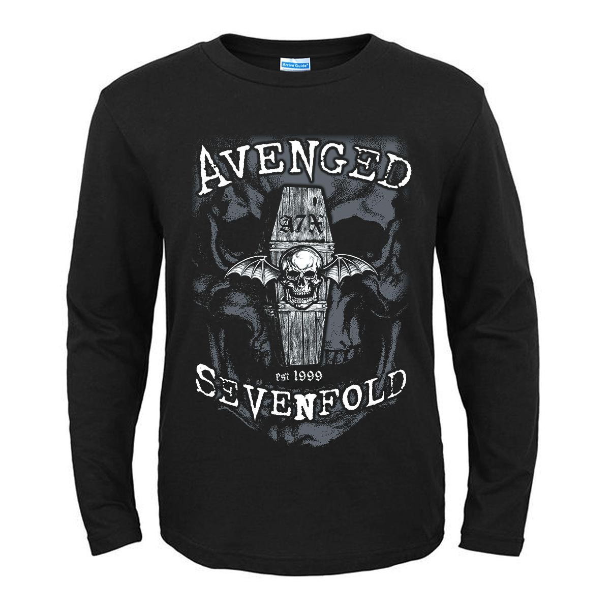 Merchandise T-Shirt Avenged Sevenfold Coffin Logo