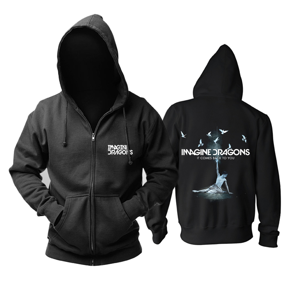 Merchandise Hoodie Imagine Dragons It Comes Back To You Pullover