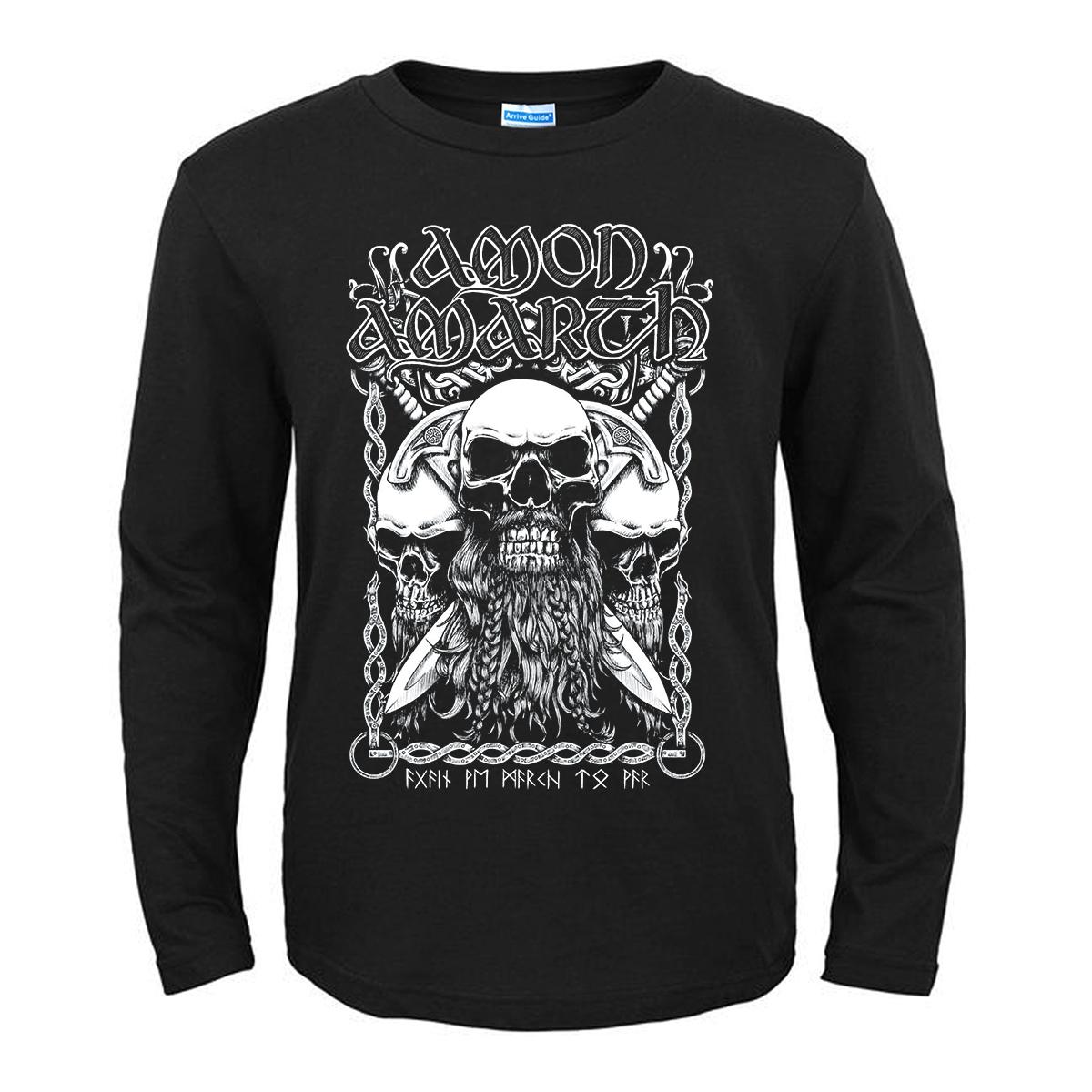 Merchandise T-Shirt Amon Amarth Bearded Skull