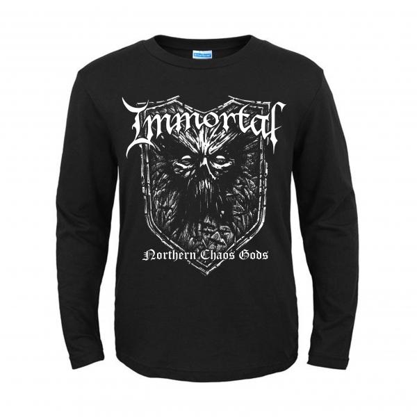 Immortal Longsleeve Shirt Northern Chaos Gods Giantrecords Se