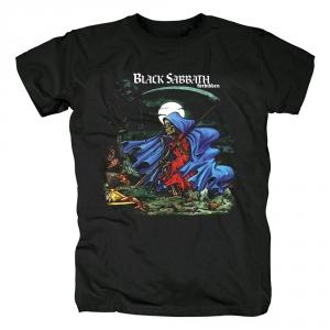 Merch T-Shirt Black Sabbath Forbidden Black