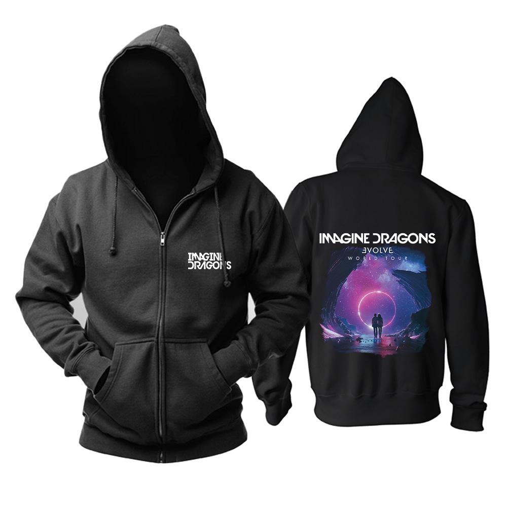 Merch Hoodie Imagine Dragons Evolve World Tour Pullover