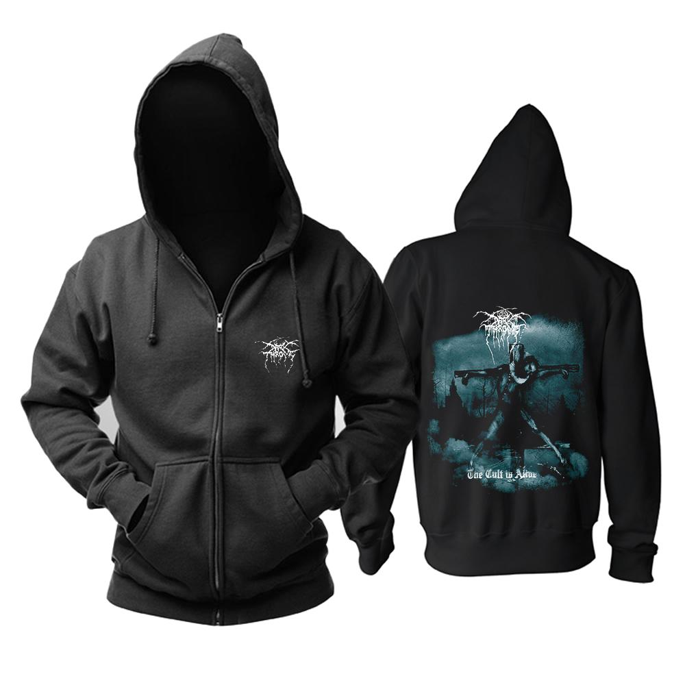 Merchandise Darkthrone Hoodie The Cult Is Alive Pullover