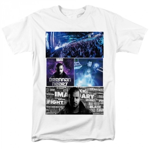 Collectibles T-Shirt Brennan Heart Style White
