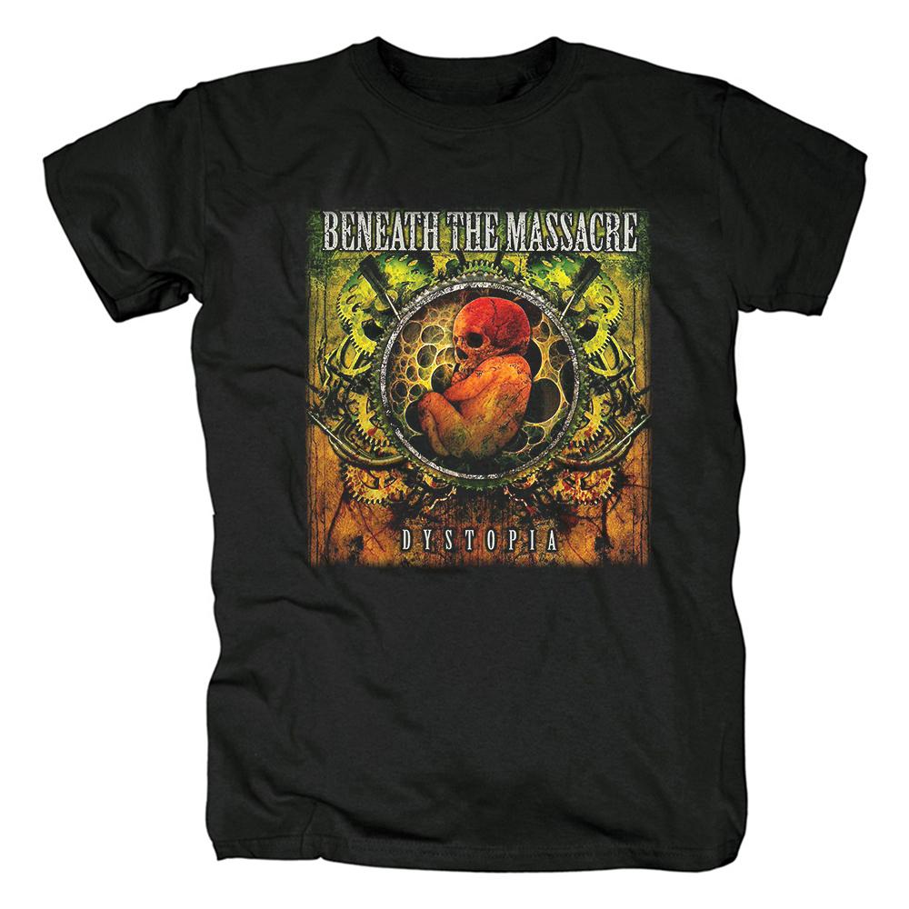 Merch T-Shirt Beneath The Massacre Evidence Of Inequity Dystopia