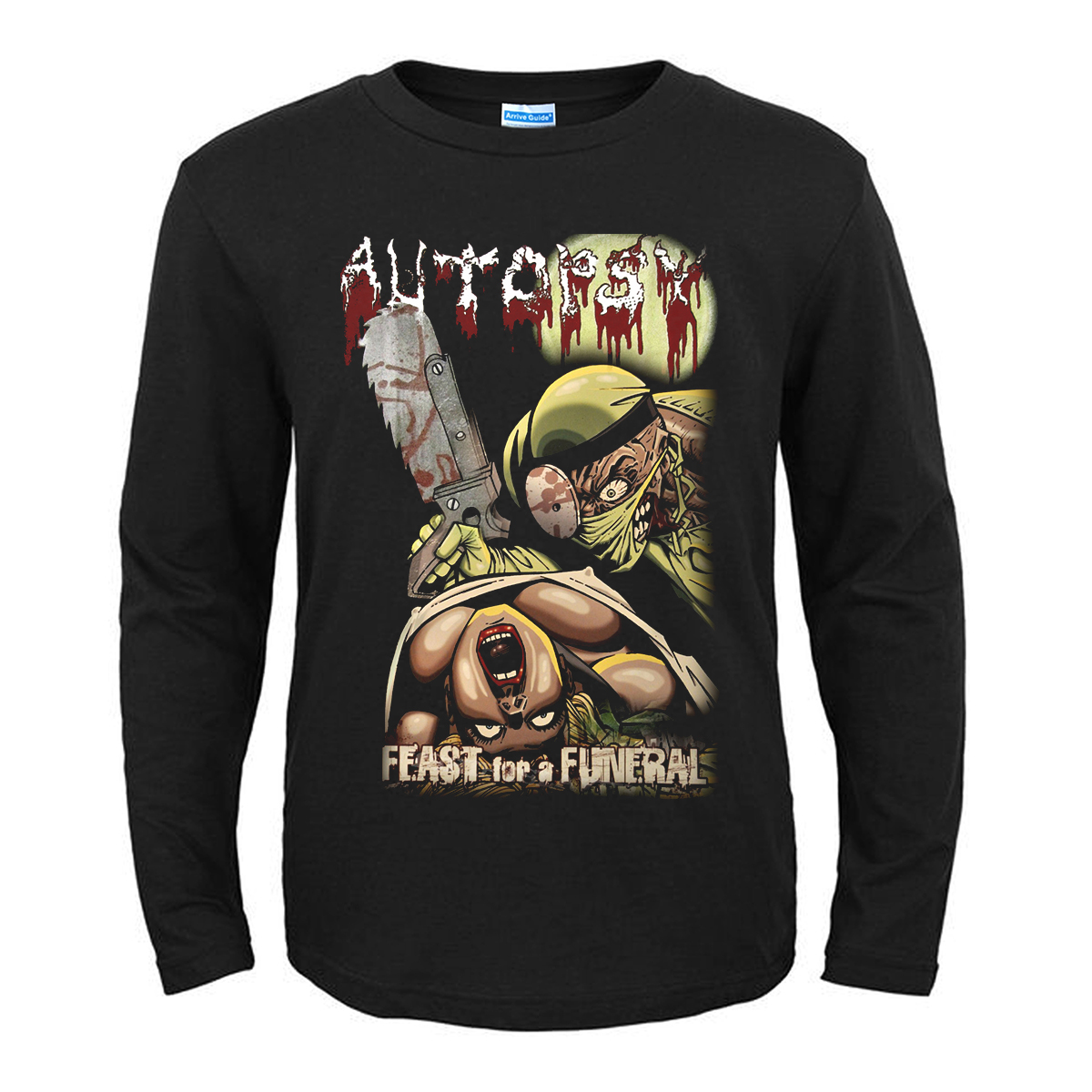 Collectibles T-Shirt Autopsy Feast For A Funeral
