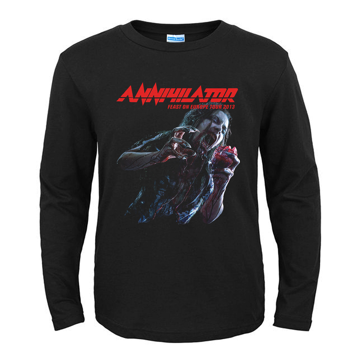 Collectibles T-Shirt Annihilator Feast On Europe Tour