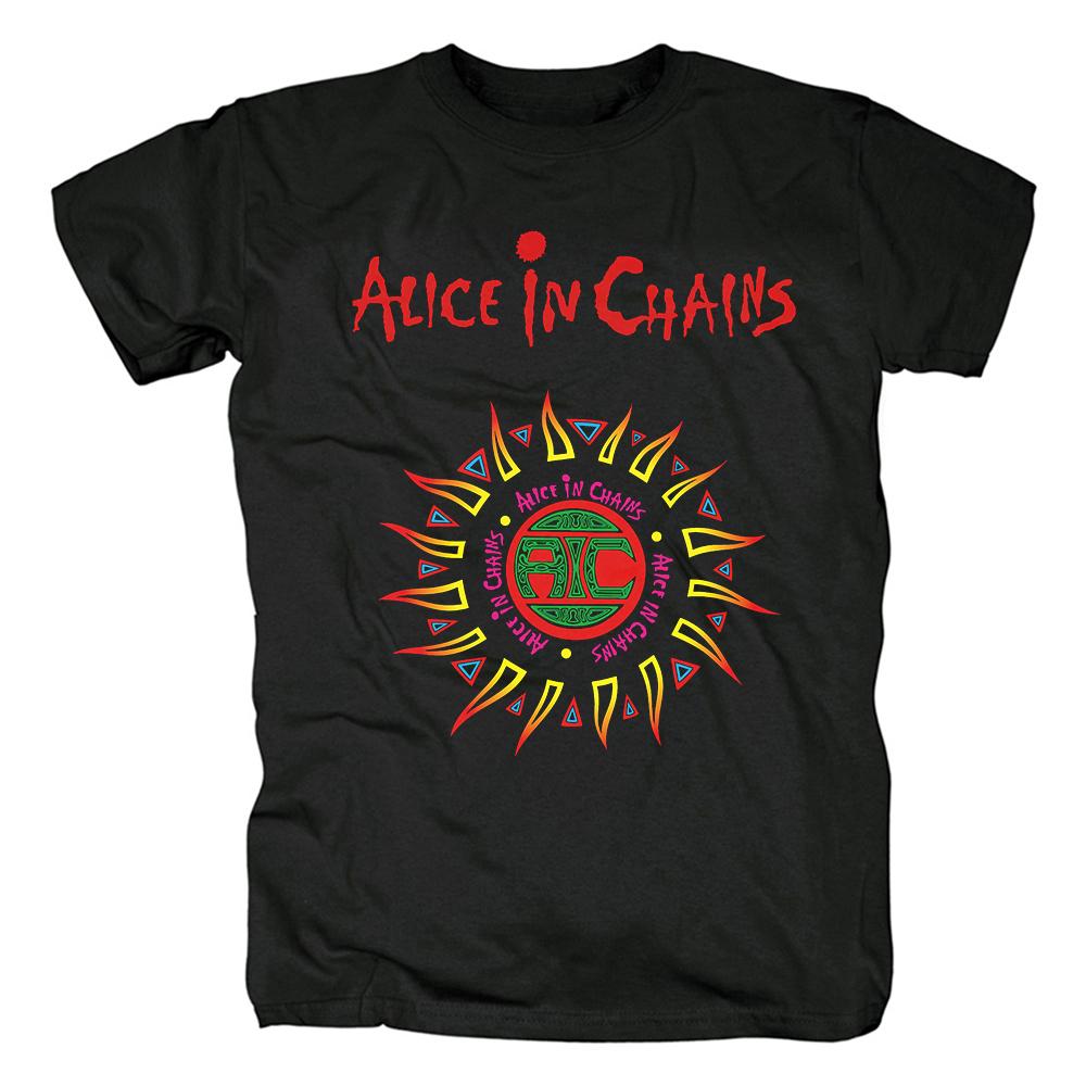 Collectibles T-Shirt Alice In Chains Band Logo
