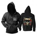 Merch Hoodie Guns N' Roses Hard-Rock Pullover