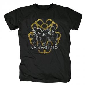 Collectibles T-Shirt Black Veil Brides Metal Band Logo