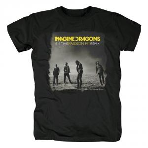 Merch T-Shirt Imagine Dragons It'S Time Passion Pit Remix