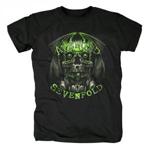 Merchandise T-Shirt Avenged Sevenfold Robot Black