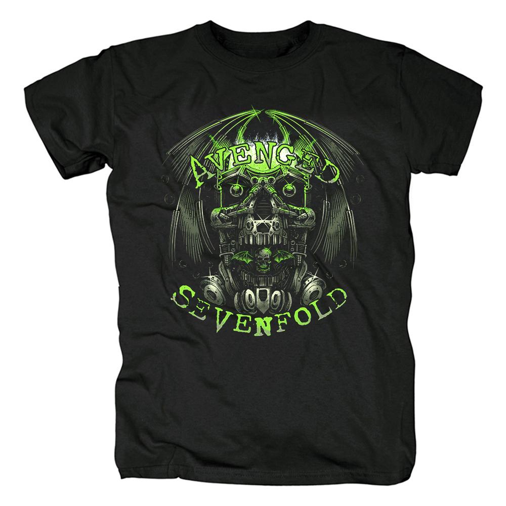 Collectibles T-Shirt Avenged Sevenfold Robot Black