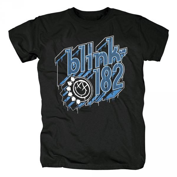 760d4fa28 T-shirt Blink-182 Rock Band Logo Apparel