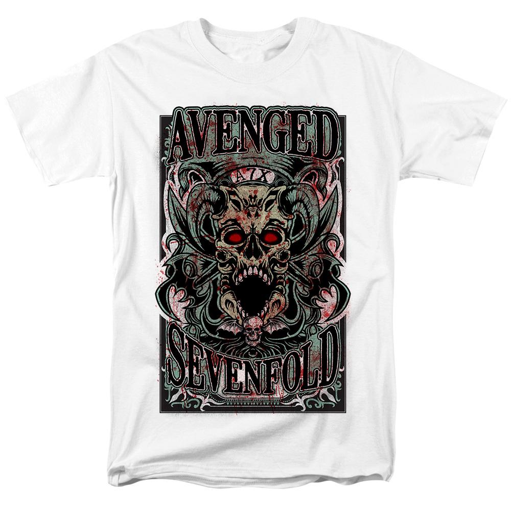 Merchandise T-Shirt Avenged Sevenfold Demon Skull