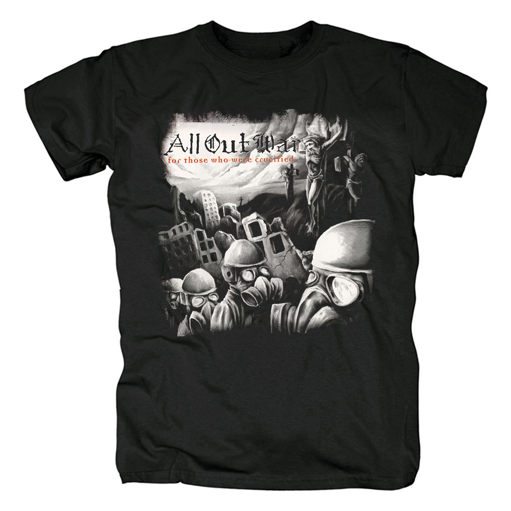 Merch T-Shirt All Out War For Those Who Were Crucified