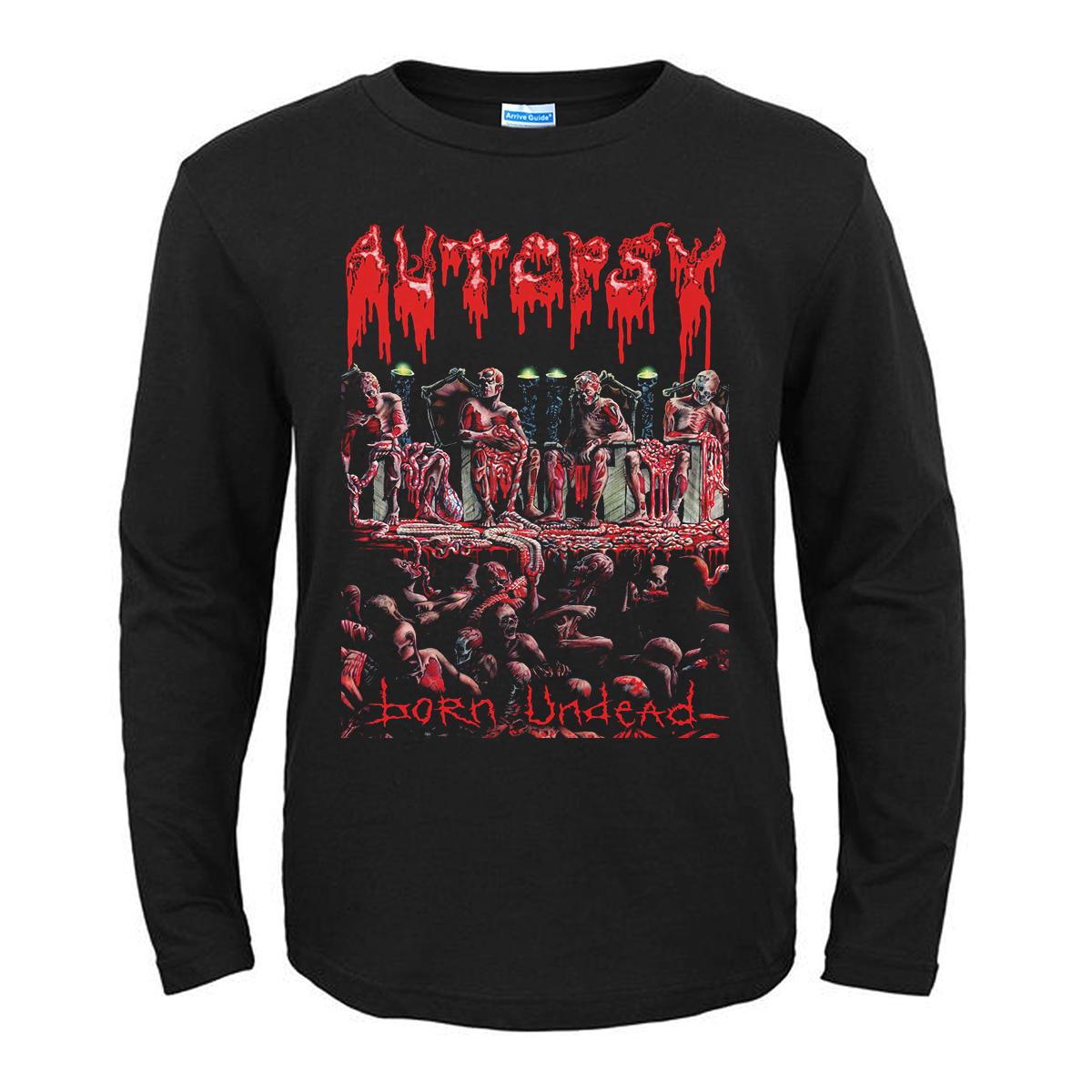 Merchandise T-Shirt Autopsy Born Undead Black
