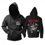 Merch Hoodie Guns N' Roses Hard Rock Pullover