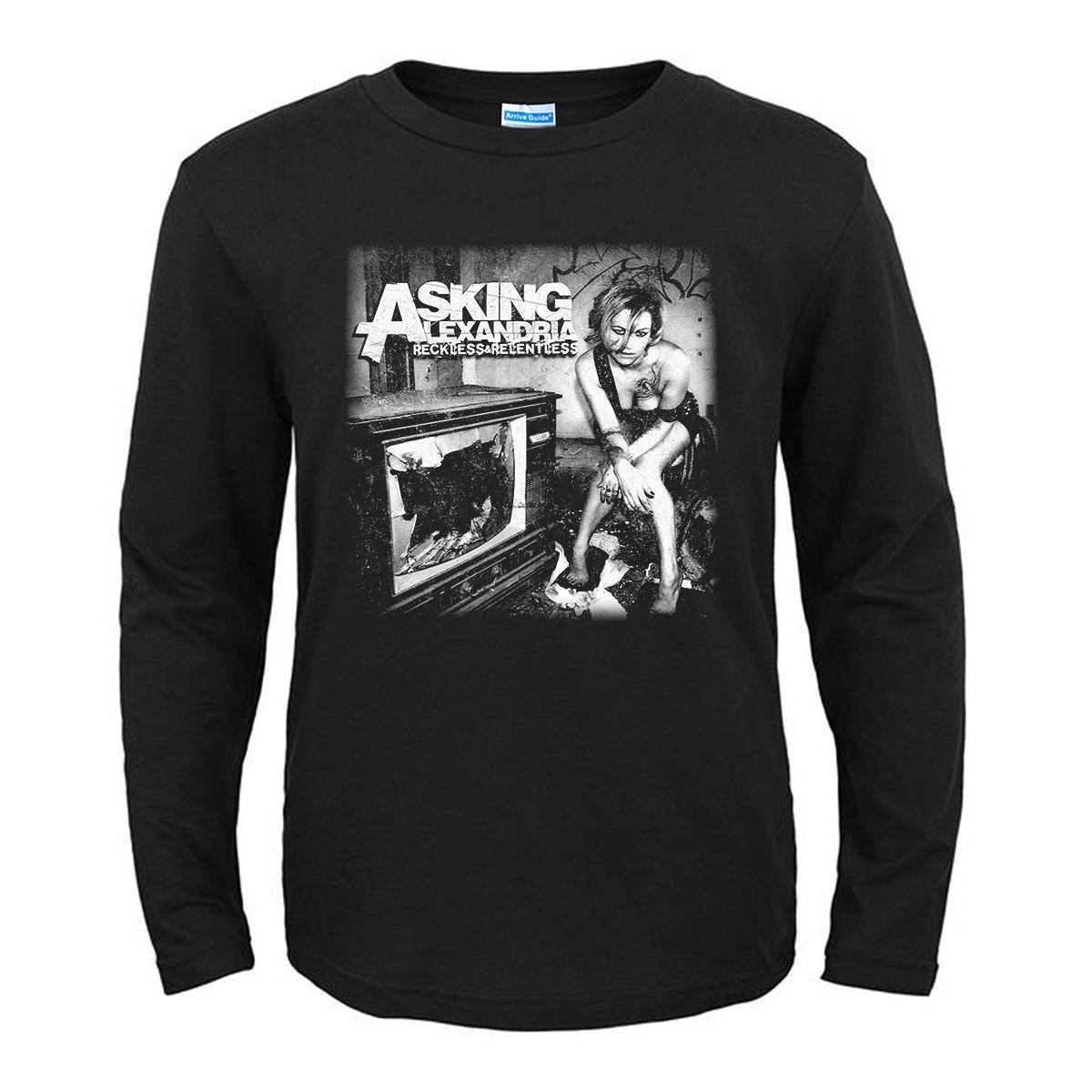 Merch T-Shirt Asking Alexandria Reckless &Amp; Relentless