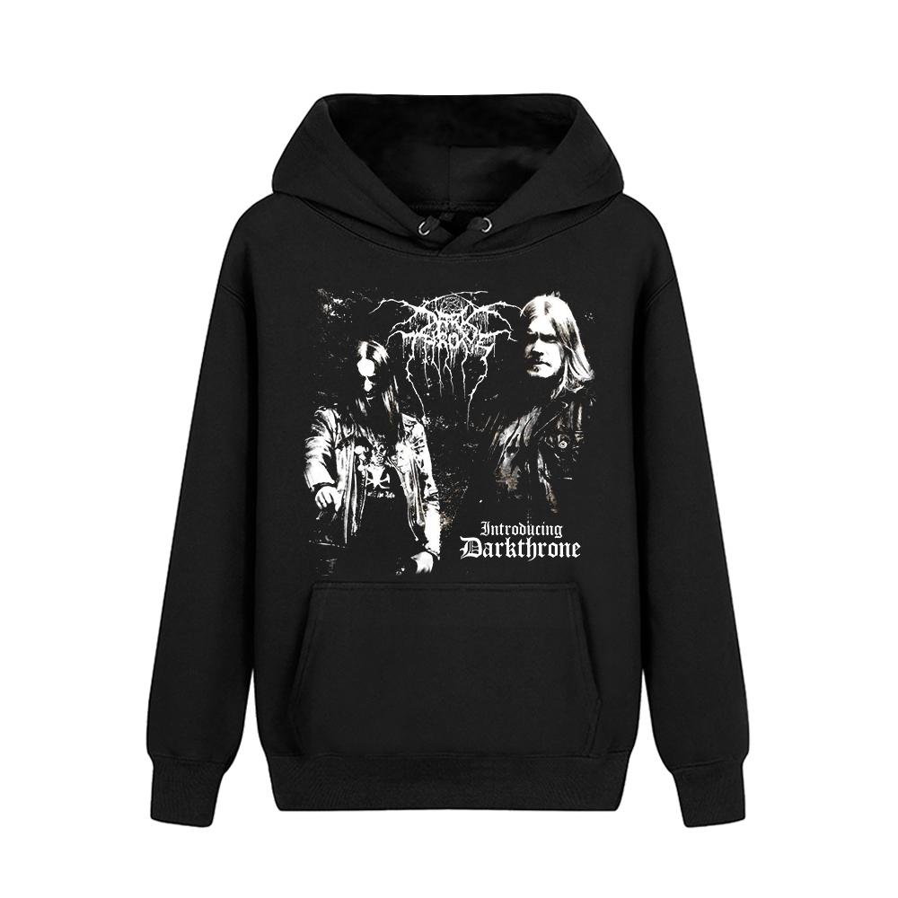 Merch Hoodie Darkthrone Fenriz And Nocturno Culto Pullover
